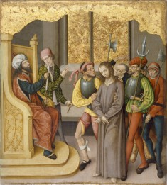 Altarpiece with the Passion of Christ: Christ before High Priest