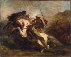 Collision of the Moorish Horsemen