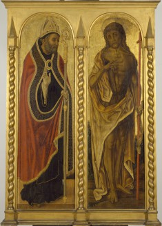 Saint Benedict and Saint John the Baptist