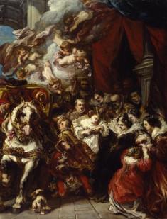 The Departure of Elisabeth of France for Spain