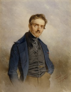 Portrait of A. L. Barye
