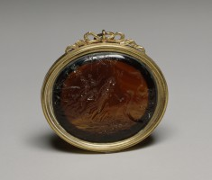 Pendant with Ariadne Deserted by Theseus