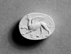 Scaraboid Intaglio with a Griffin