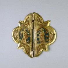 Clasp with Annunciation Scene