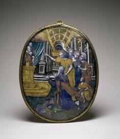 Plaque with Solomon Turning to Idolatry