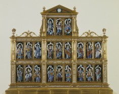 Twenty-one Plaques Depicting Prophets, Apostles and Sibyls
