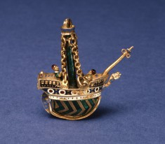 Pomander in the Shape of a Ship