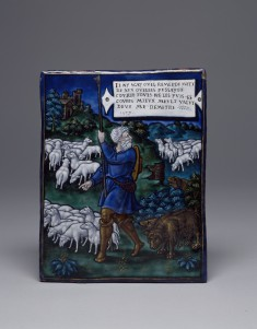 Plaque with the Bad Shepherd