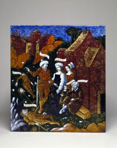 Aeneas Entreats Anchises to Flee from Troy