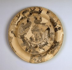 Plate with a Gorgoneion