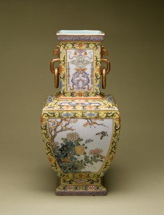 Vase with Flowers of the Four Seasons
