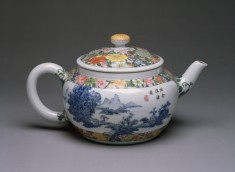 Teapot with Landscapes