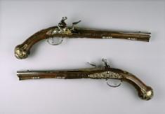 Pair of Flintlock Pistols