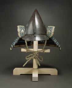 "Helmet (""Kabuto"") with Chrysanthemums"