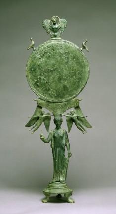 Caryatid Mirror with Aphrodite