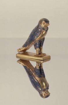 Figure of a Horus Falcon