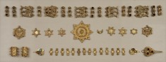 Gold Jewelry Elements