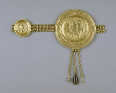 Belt Section with Medallions of Constantius II and Faustina