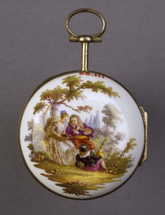 Watch with a Scene of Musicians