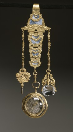 Chatelaine with Watch