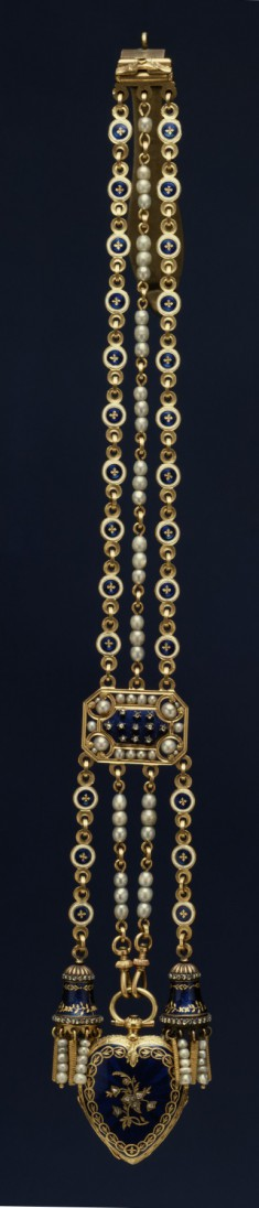 Heart-Shaped Watch and Chatelaine