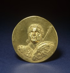Medallion with Alexander the Great