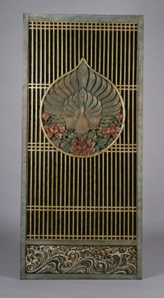 Temple Door with Peacocks