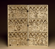 Right Diptych Leaf with Scenes of the Passion