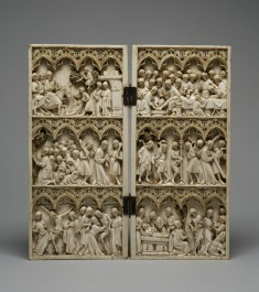 Diptych with Scenes from the Passion of Christ