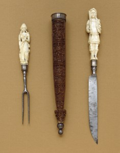 Knife-and-Fork Set with Mars and Diana