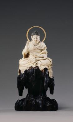 Seated Bodhisattva Monju with Sword