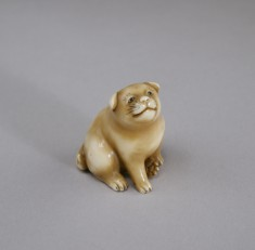 Netsuke in the Form of a Puppy