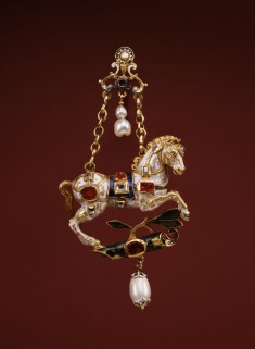 Pendant with a Prancing Horse