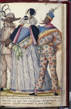 Venetian Revellers