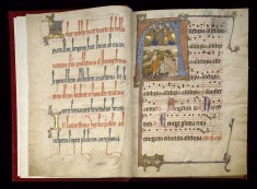 Leaf from the Beaupré Antiphonary (Volume I)