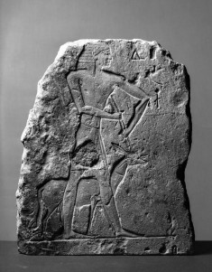 Fragment of a Tomb Relief with an Attendant Leading an Oryx