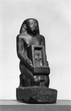The Priest Pe-Kher-Khons Holding the Shrine of Osiris