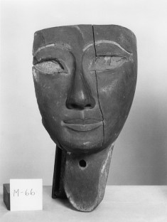 Head from a Mummy Case (?)