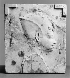 Model with the Head of a King