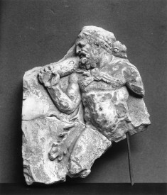 Herakles with Club Advancing to the Left