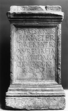 Votive Altar to Terra Mater