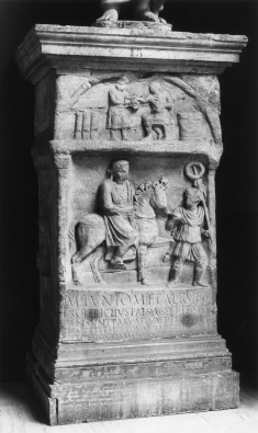 Altar Dedicated to M. Iunius Rufus by his Tutor Soterichus