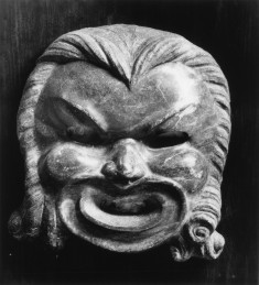 Antefix in the Form of a Theatrical Mask