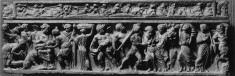 Sarcophagus Depicting the Birth of Dionysus