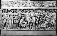 Sarcophagus with Dionysus and Ariadne