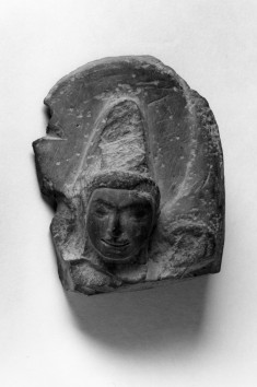 Head of a Deity (Indra or Brahma)