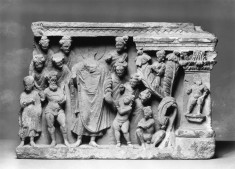 Scenes From the Life of Buddha: The Offering of the Handful of Dust