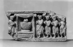 The Worship of Buddha's Alms Bowl (?)