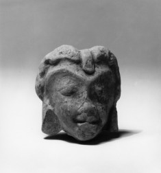 Head of a Village Divinity