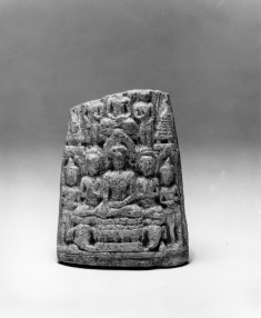 The Buddha with Worshippers